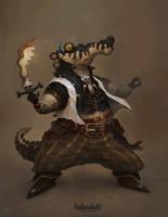 Crocoguy by trejoeeee