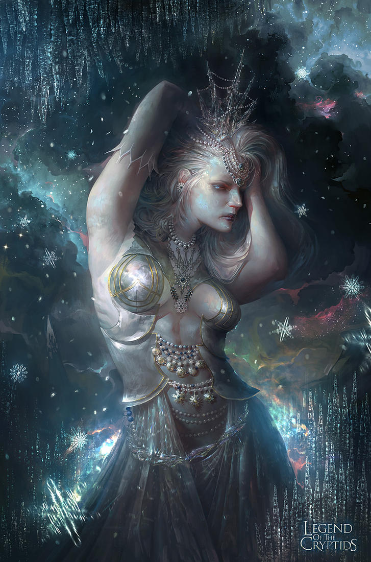 Applibot-Ice Princes by trejoeeee