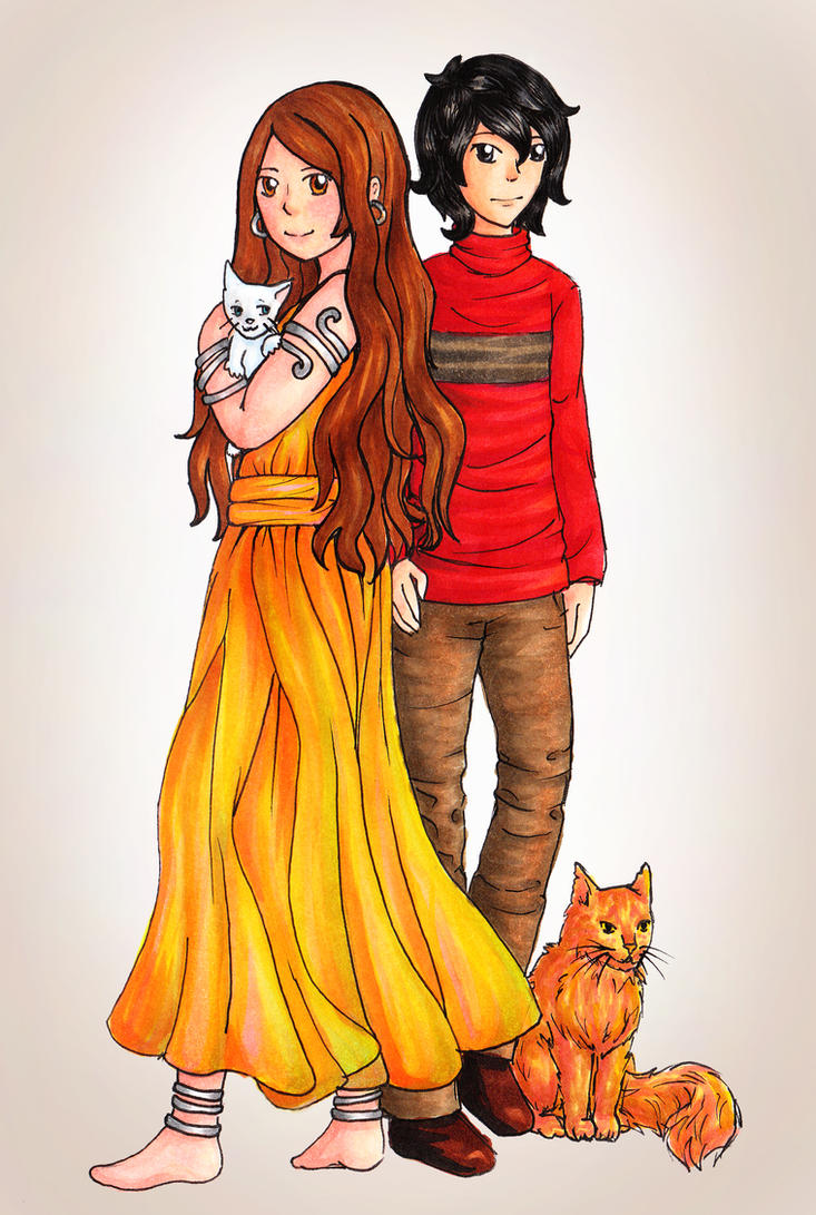 Christopher and Millie by WingedLioness