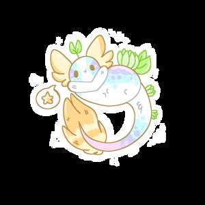 [Yuikadia: Adopt] Squitl #2 Tropical (CLOSED)