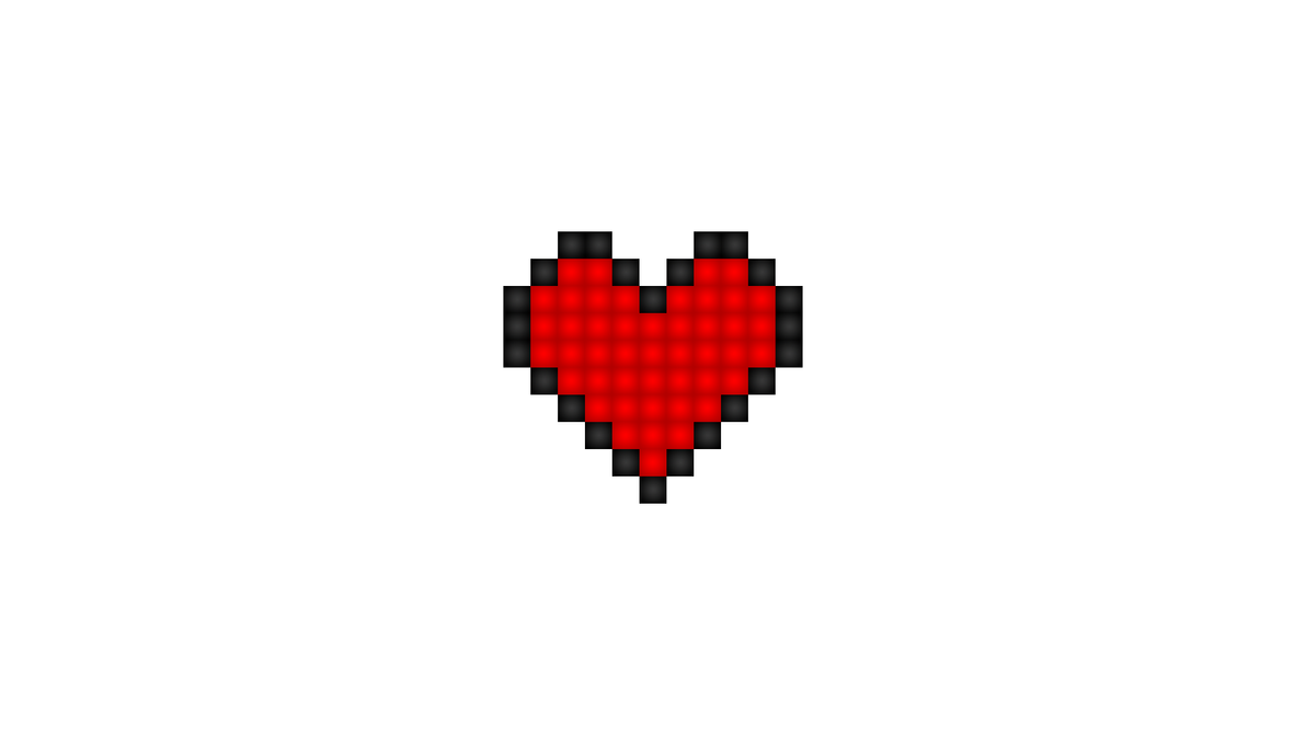 Pixel Heart 1920x1080 By Somebodyslime On Deviantart