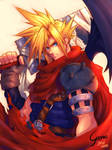 Kingdom Hearts - Cloud Strife