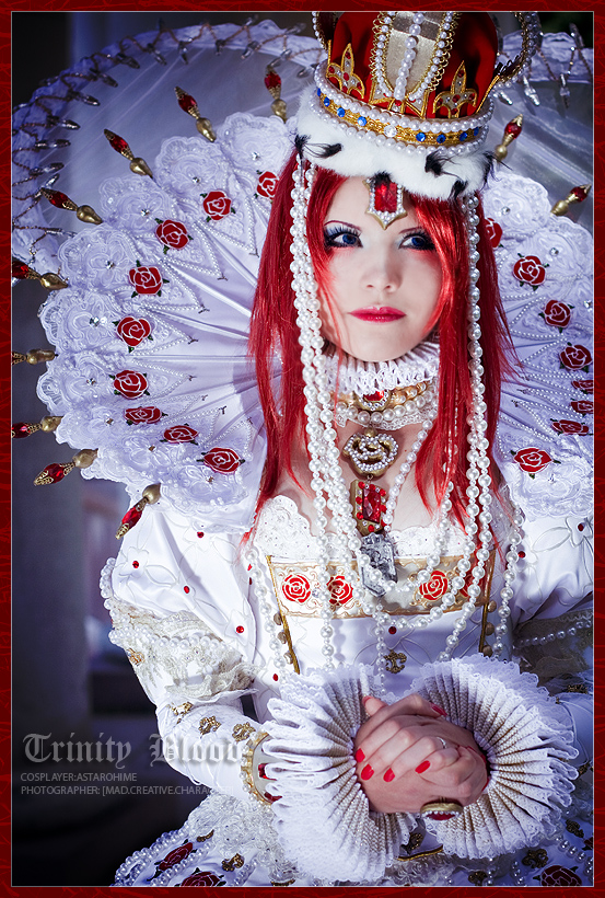 Trinity Blood: My look... by Astarohime