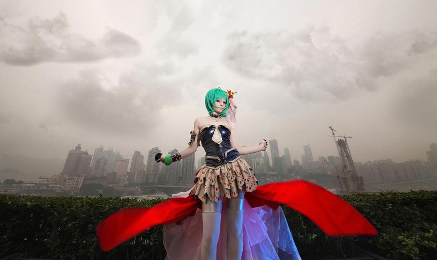 MacrossFrontier: Cinderella by Astarohime