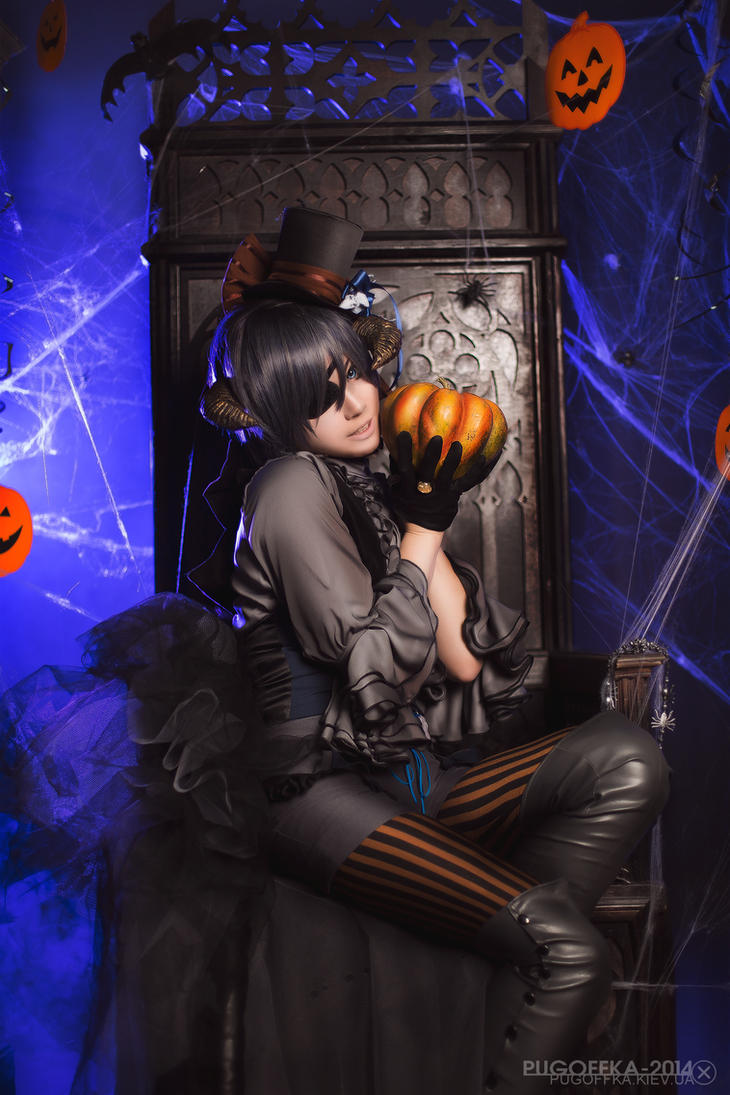 Kuroshitsuji: Halloween time by Astarohime