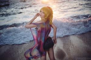 Eli Ayase - mermaid girl by Astarohime