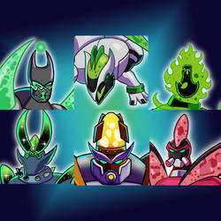 Alien of the Month - Icons