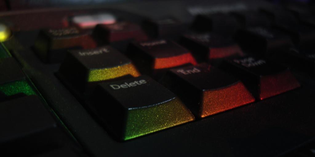 Original Light-Up Keyboard by TreeClimber