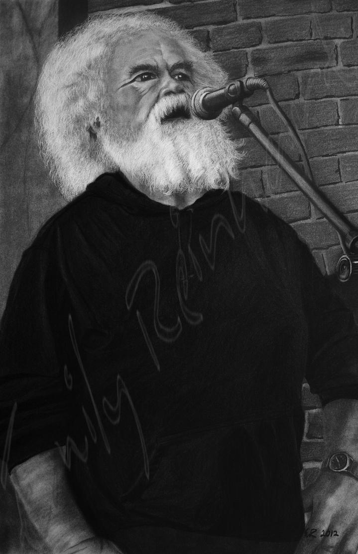 Charlie B - Charcoal Dry-Painting by TreeClimber