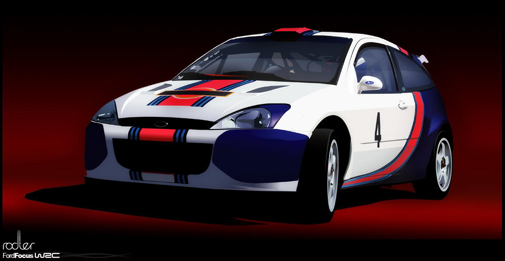 Ford Focus WRC by Rodier