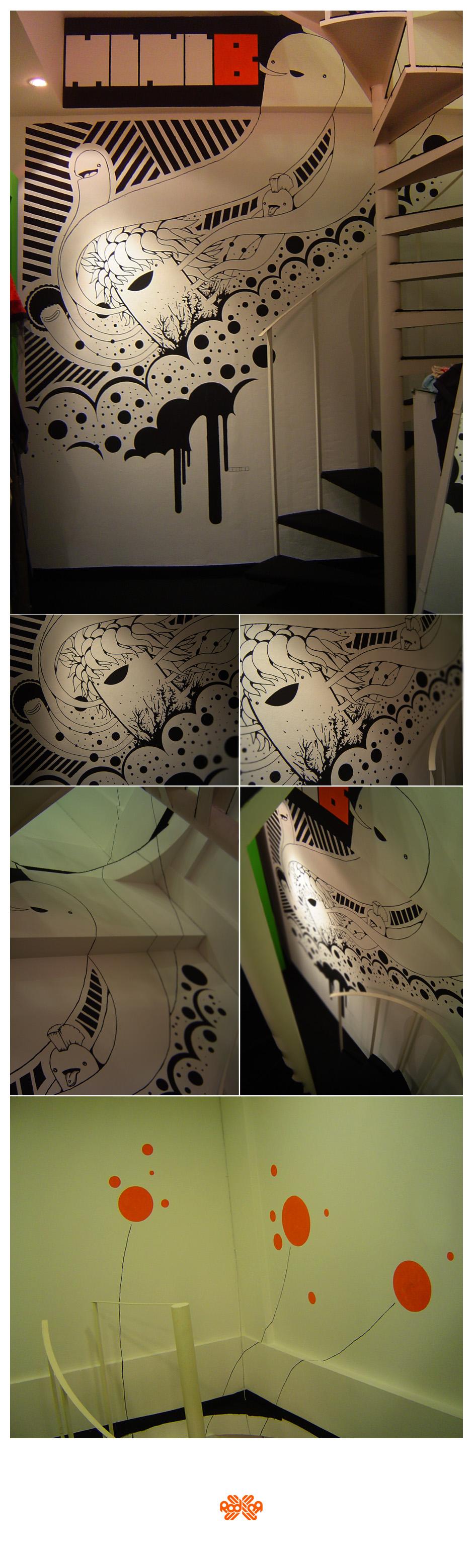 MiniB Mural by Rodier