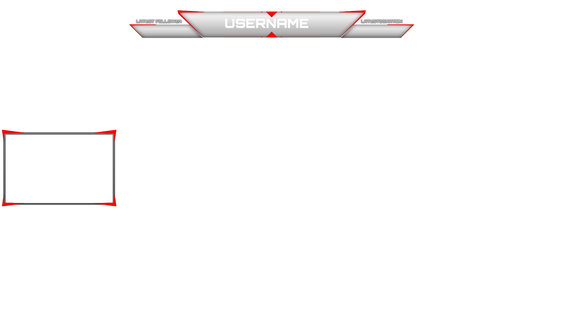 Twitch simple overlay by jaegerpangaia on deviantart for Free twitch overlay template
