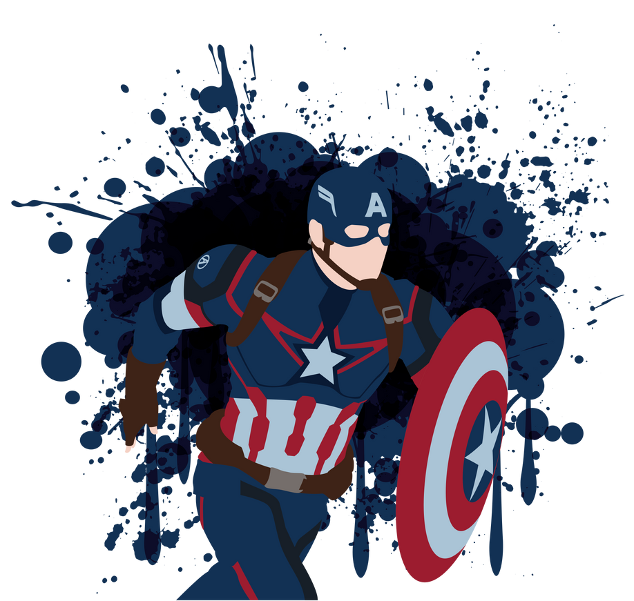 Captain America Vector Art by LankySandwich on DeviantArt