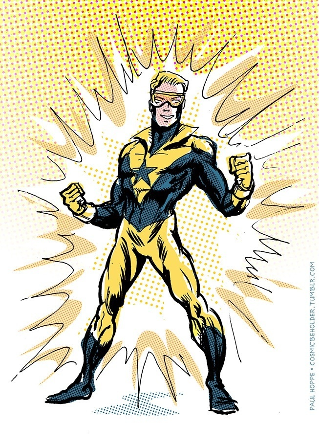 Booster Gold by TheCosmicBeholder