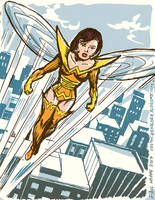 The Wasp in the 1970s by TheCosmicBeholder