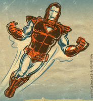 1980s Iron-Man by TheCosmicBeholder
