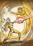 Moonstone Vs Captain Marvel (Monica Rambeau)