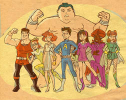 The Awesomes by TheCosmicBeholder