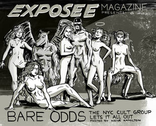 Exposee Magazine April Feature by TheCosmicBeholder