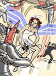 Ionic Angel vs the Techno Condors