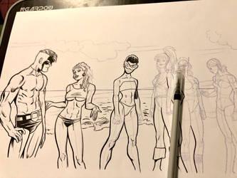 Inking over tulio19mx pencils