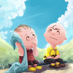 linus,charlie brown