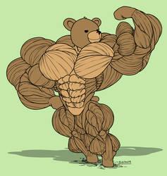 Teddy Bear Experiment by SinewyPendels