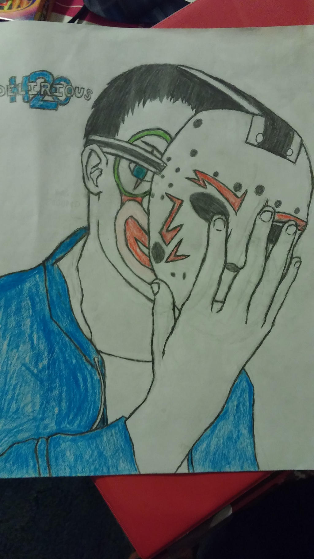 H2O Delirious by KyuubitheZoroark on DeviantArt H2o Delirious Drawings
