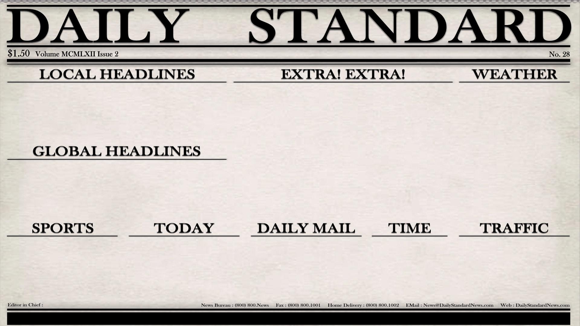 Daily Standard Wallpaper