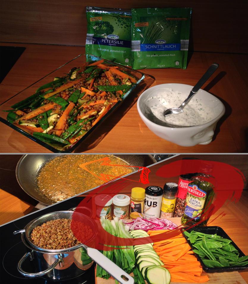Vegan Curry by Baalbaki