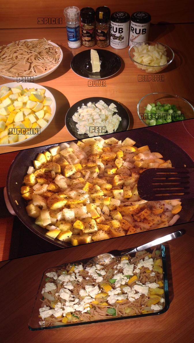 Vegetarian Leftover-Dish by Baalbaki