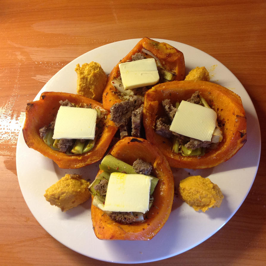 Pumpkin Dish by Baalbaki