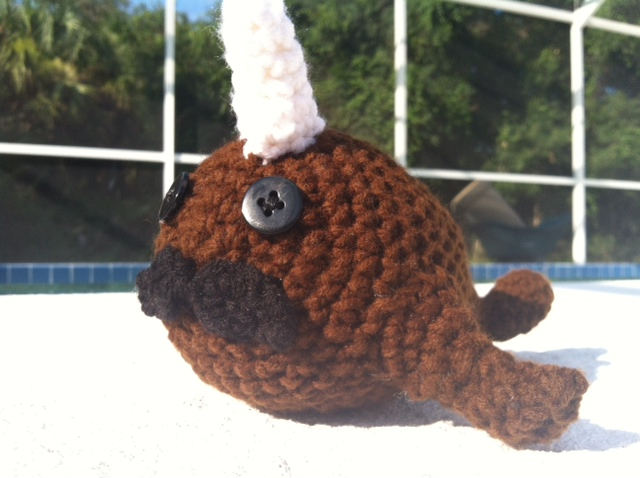 Amigurumi Narwhal : Crochet Narwhal Amigurumi by ChimeraConception on DeviantArt