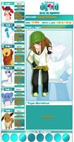 Pokemon Agora - Hanako Mitzumaki by Onlydii