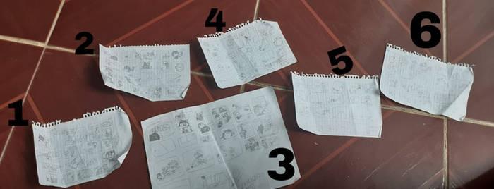 My comics in order