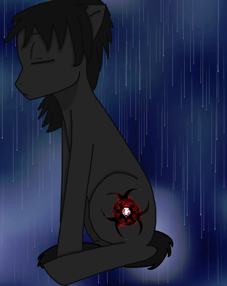 Sad Zombeh by ChibiMisfit