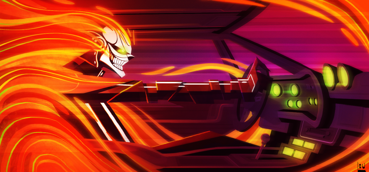 All Ghost Rider by NYAAAAAAMAN