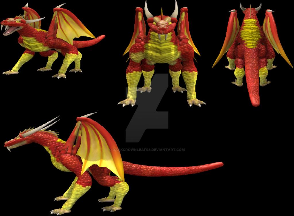 Wizard101 Fire Dragon By Darkcrownleaf98 On Deviantart