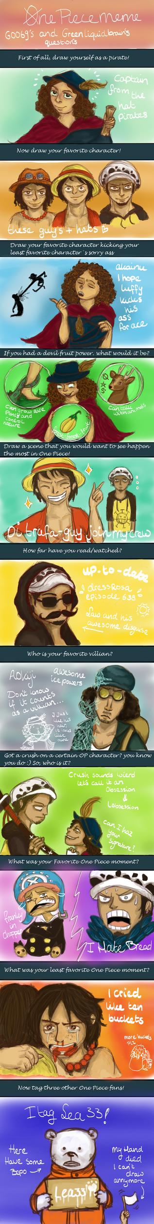 One Piece Meme by BoogieSnail