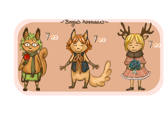 Adoptables 2014 by BoogieSnail