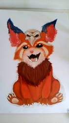 Gnar oilpainting