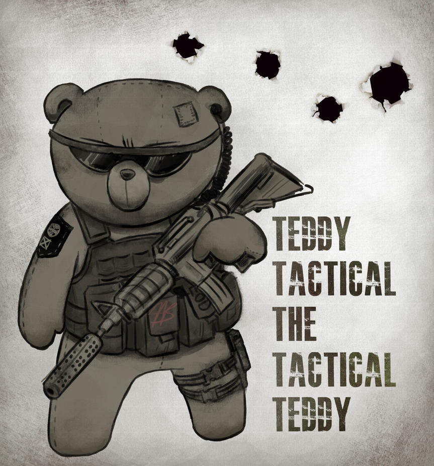 Teddy Tactical By Kidkiller Killerkid On Deviantart