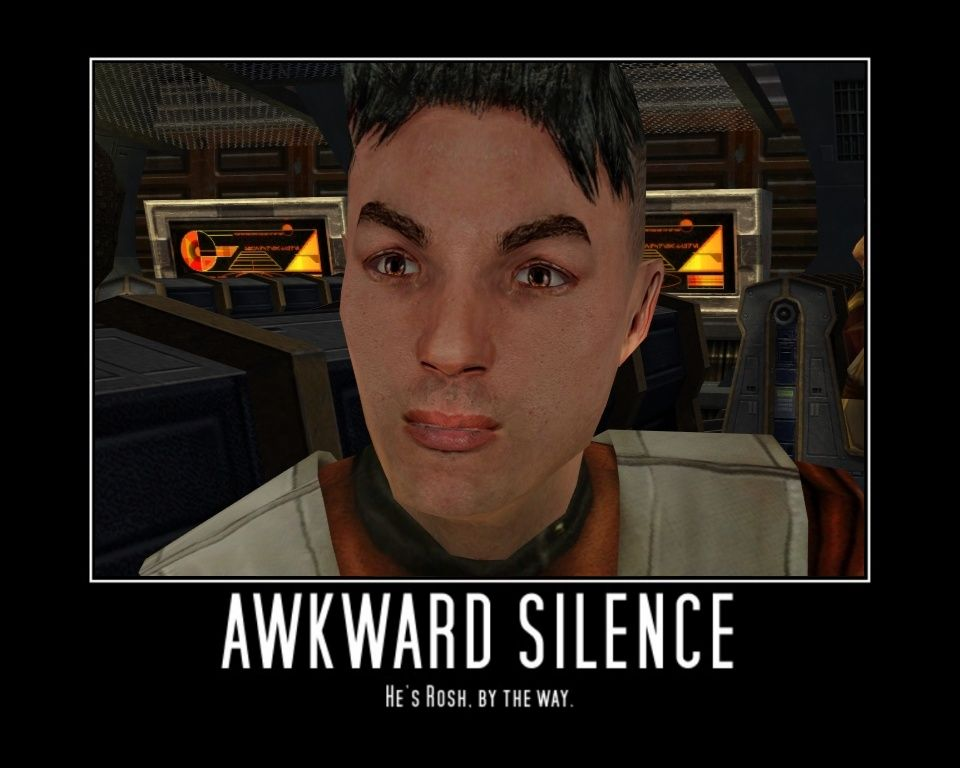 -Awkward silence- by Petra-K-Z