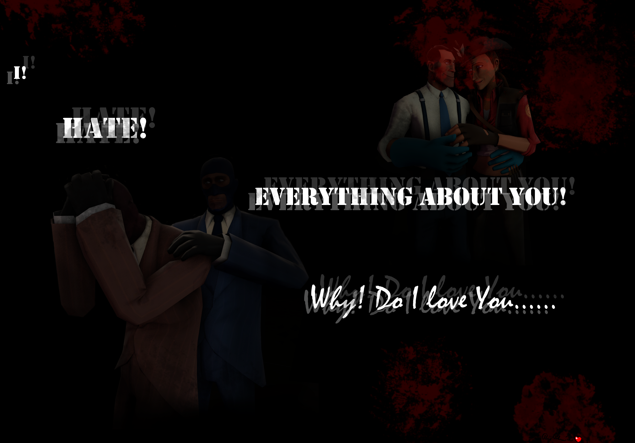 Hate! Everything about you!Why? Do I? Love you? by Petra-K-Z on ... I Hate Everything About You Why Do I Love You