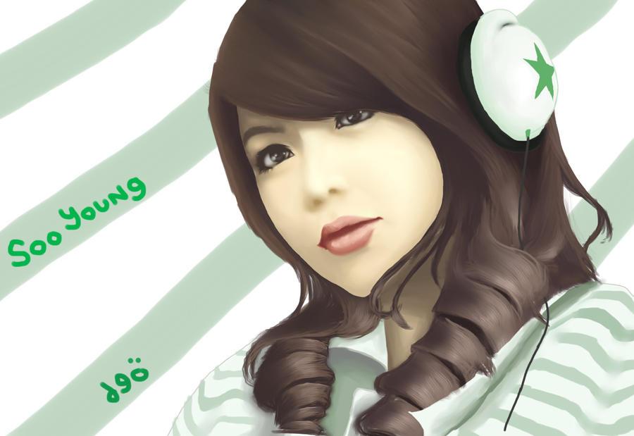 رسومات snsd Soo_Young_SNSD_Paint_by_deAtHwiSH90