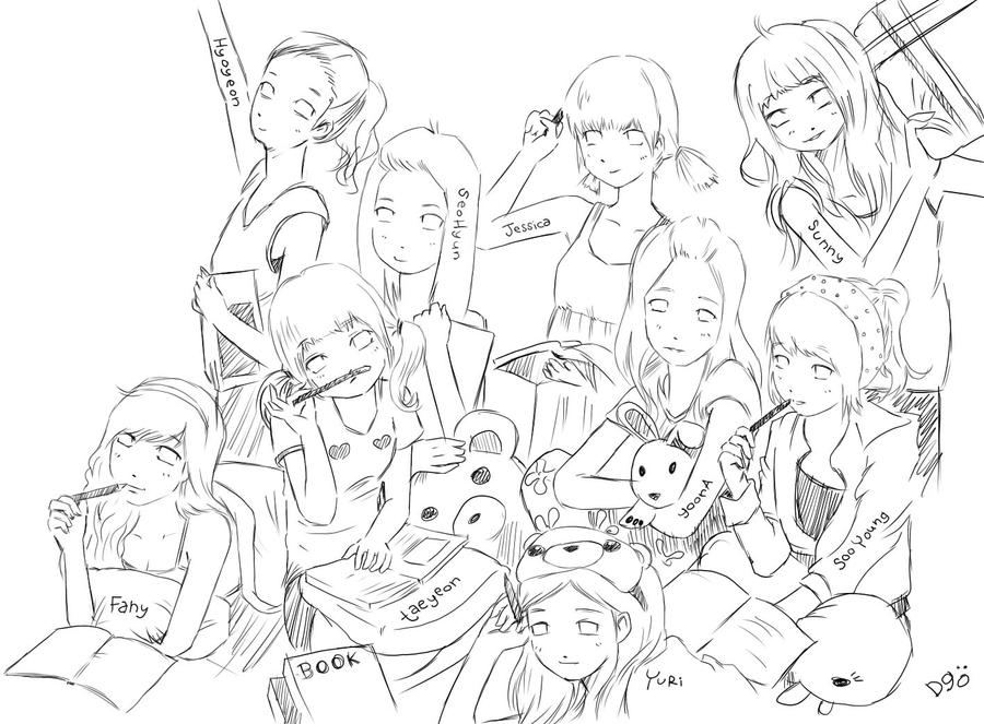 How To Draw Snsd