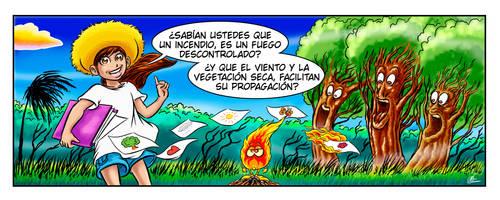 Comic Strip 01 Capacitacion Concurso Prevencion by Salamantra