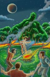 Afiche CONCURSO DE COMIC Prevencin de Incendios  by Salamantra