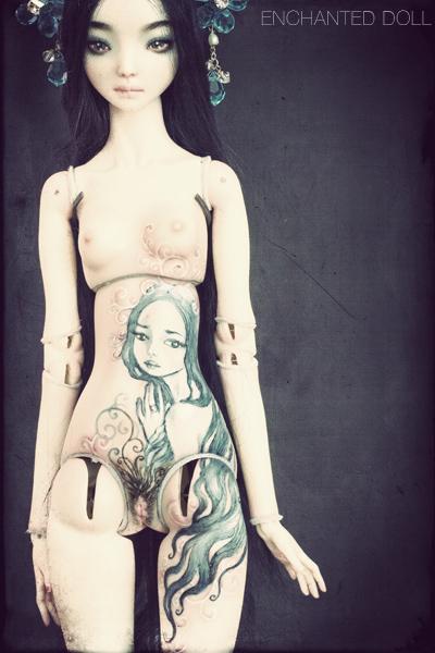 enchanted tattooed dolls - Forum Tatouage et Piercing