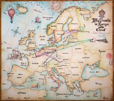 European Travels by Marina-B